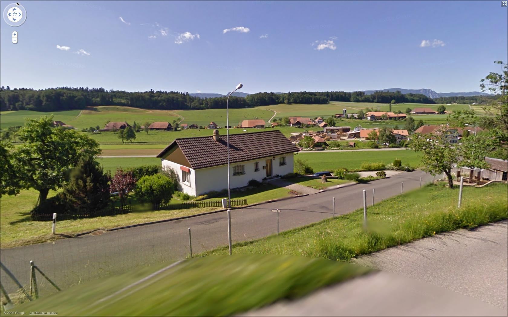 Google Streetview of where I grew up